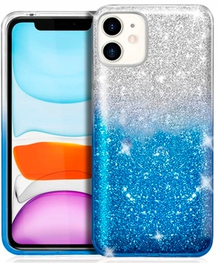 Etui Shining Case Brokat do iPhone 11 + SZKŁO