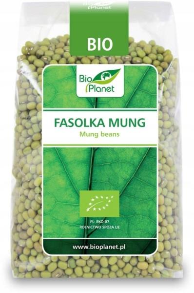 BIO PLANET Fasolka Mung BIO 400g