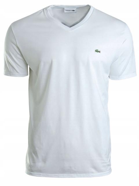 T-shirt męski Lacoste TH6710-001 - XL