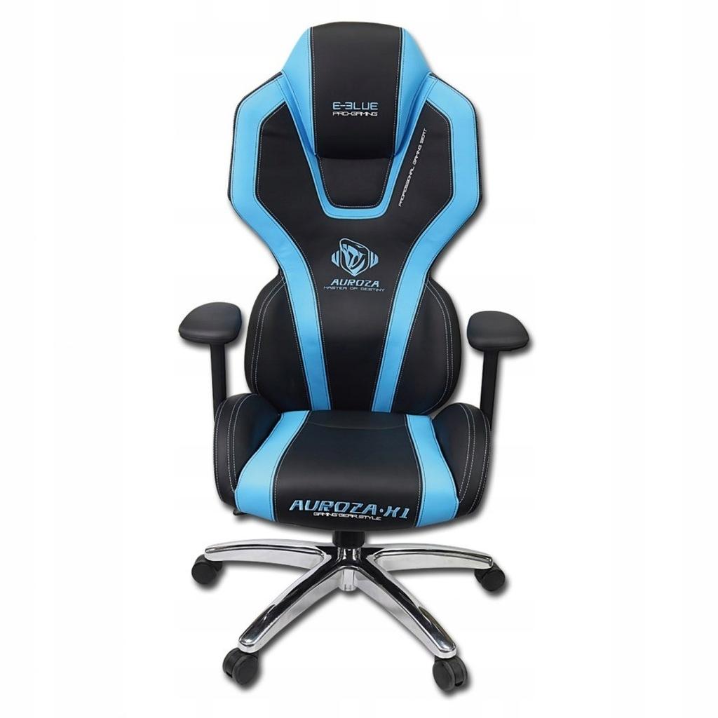 Dla gracza fotel E-Blue AUROZA, niebieskie