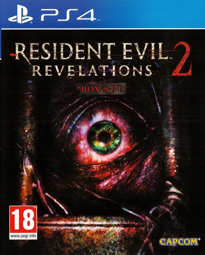 RESIDENT EVIL REVELATIONS 2 BOX SET PS4
