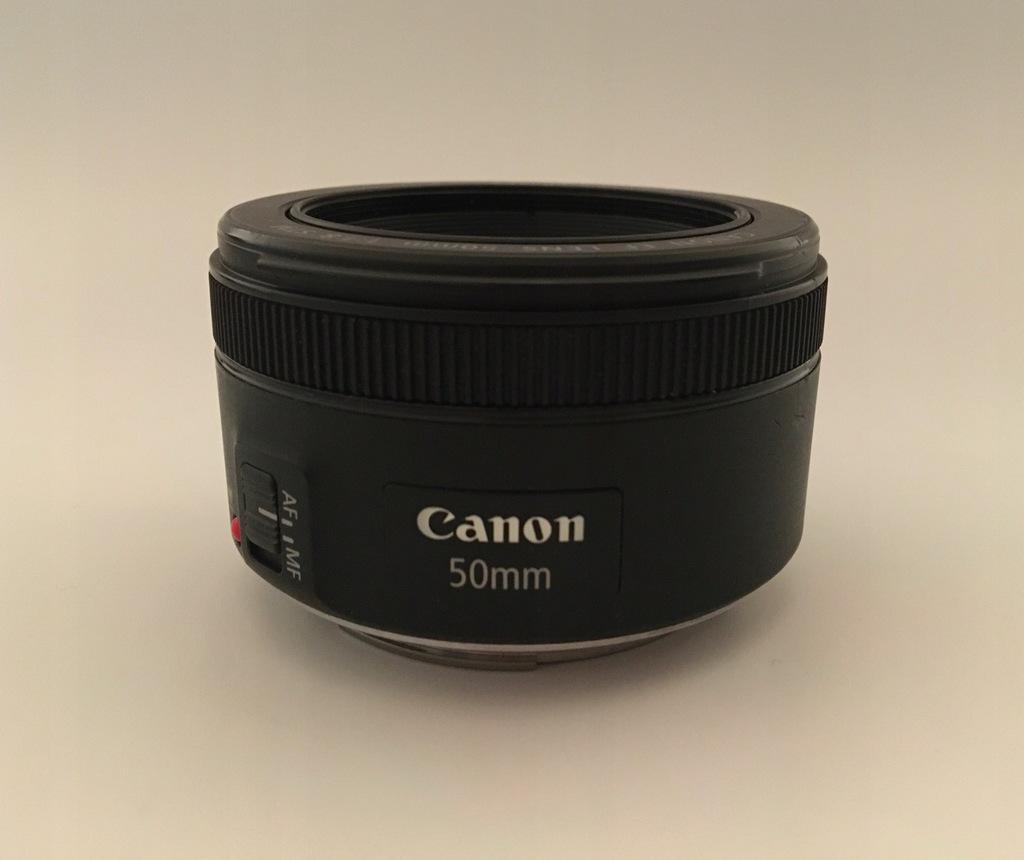 Canon obiektyw EF 50mm f/1.8 STM