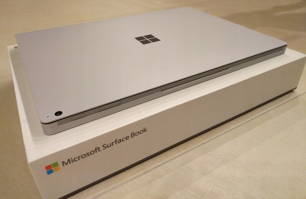 "Surface Book 2 15"" 256GB 16GB GTX1060 GW"