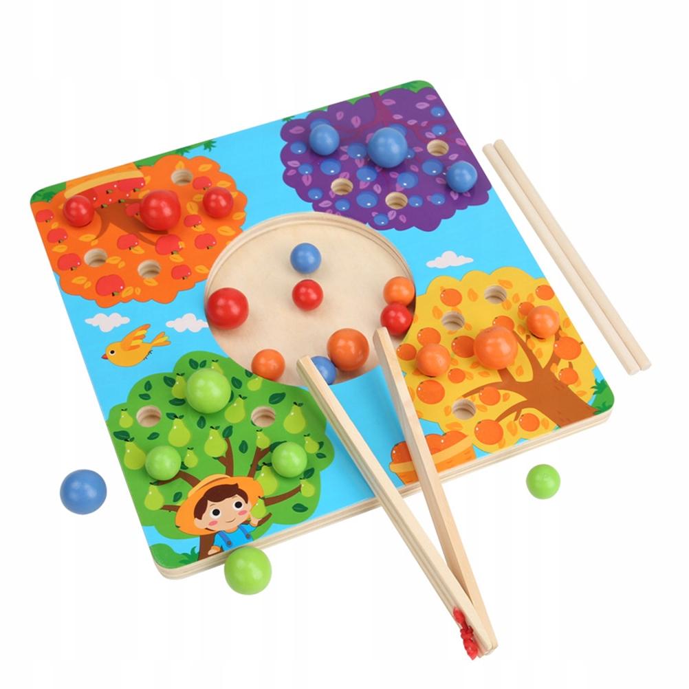 1 zestaw pałeczek do ćwiczeń dla dzieci klip fasol