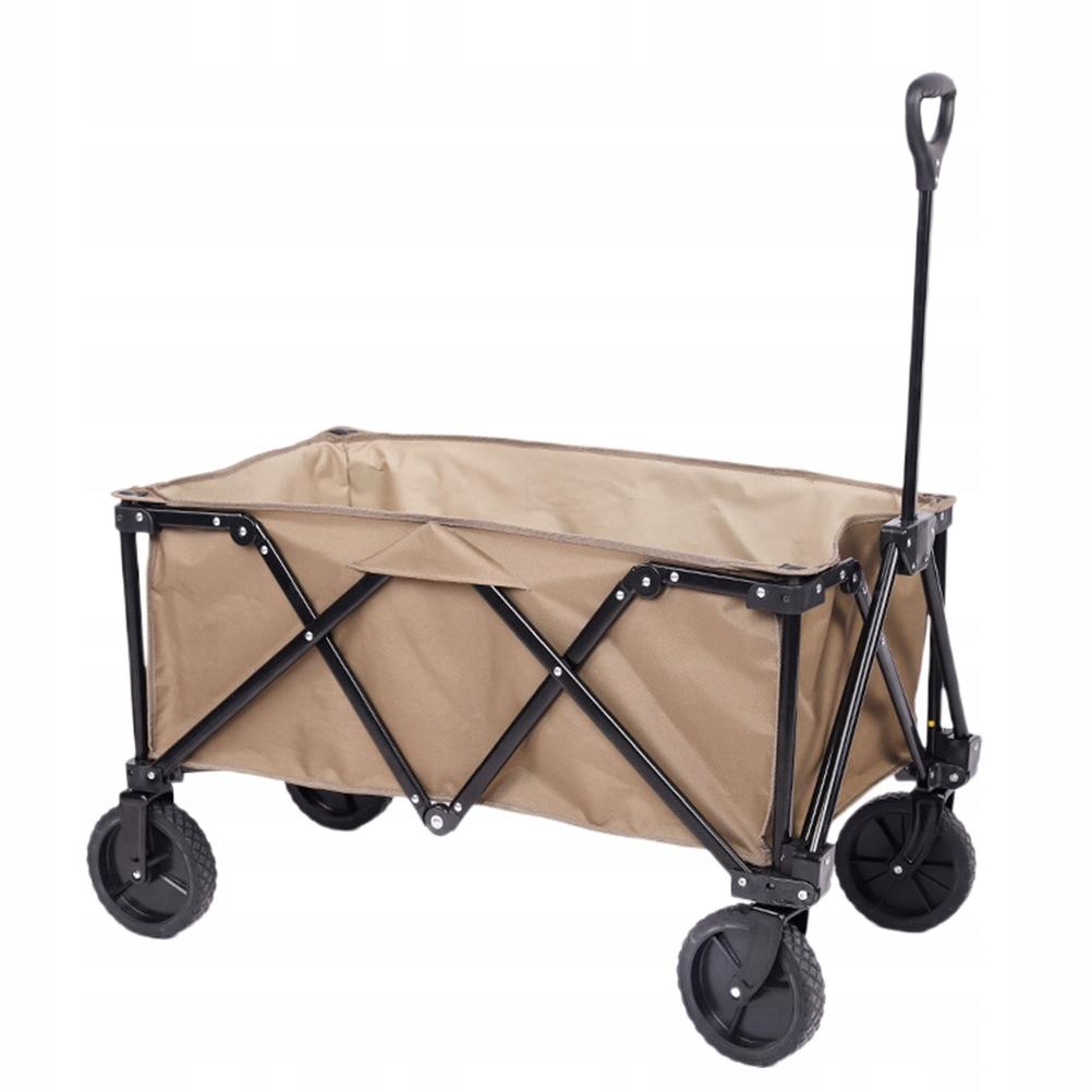 Składany składany wózek na zakupy do żywności kemp
