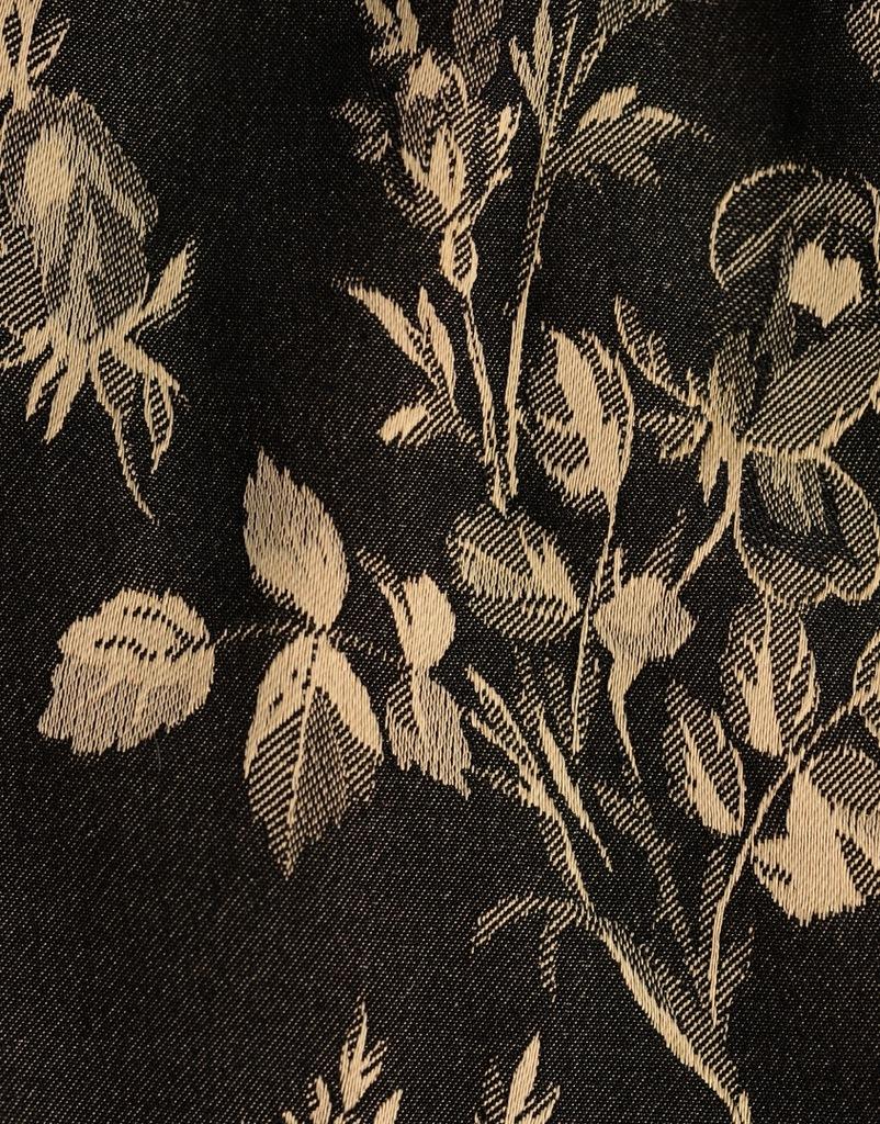 Dwukolorowe stringi kwiaty LEONI (38-40)