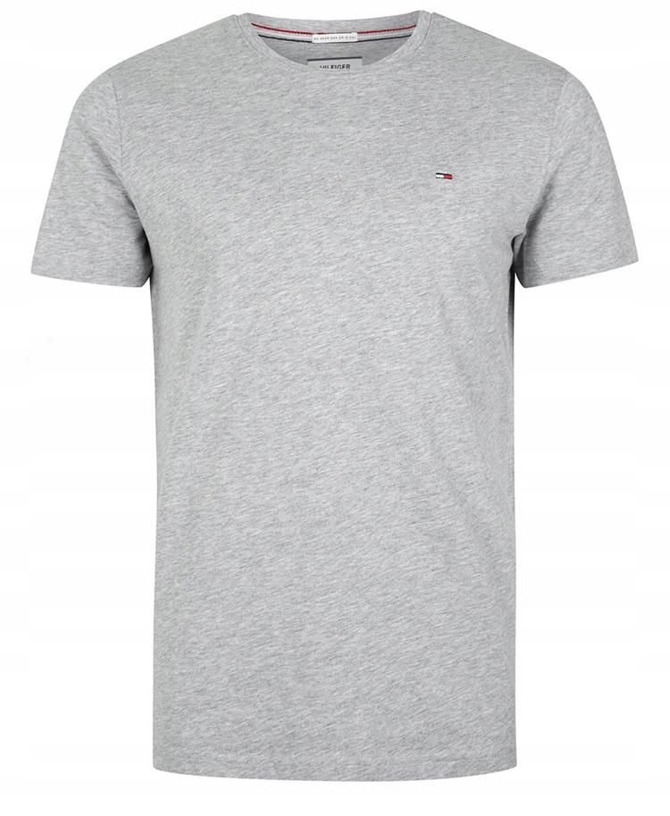 Koszulka Męska T Shirt TOMMY HILFIGER Slim Fit ! L