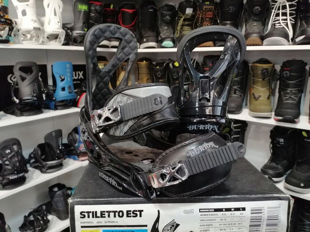 Wiązania Burton Stiletto EST S 34-36.5 damskie