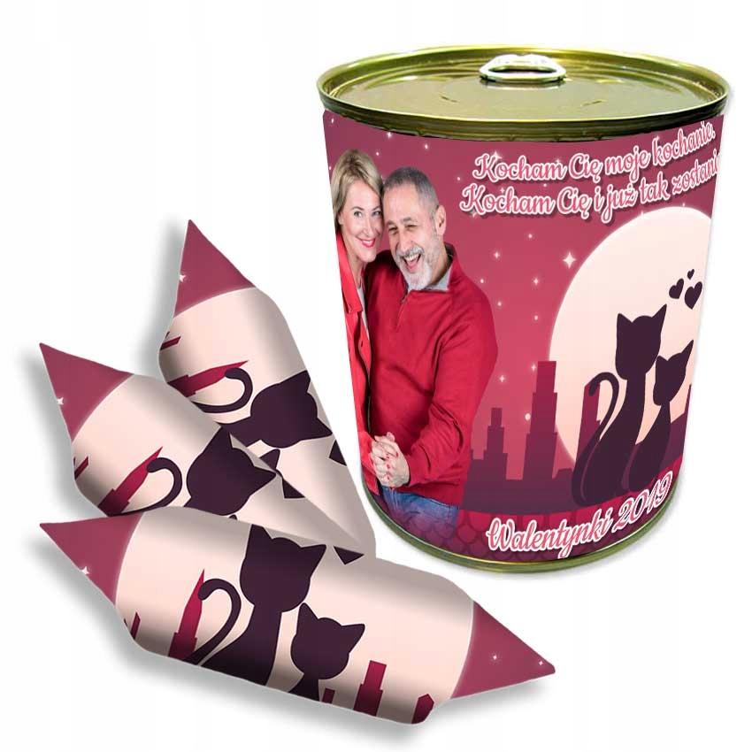 KRÓWKI w puszce konserwa WALENTYNKI Słodki prezent