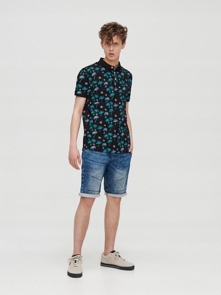 CROPP jeans SPODENKI Roz.M cropp 32 JOGGER