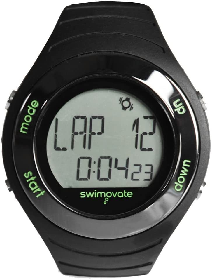 Zegarek pływacki Swimovate Poolmate czarny