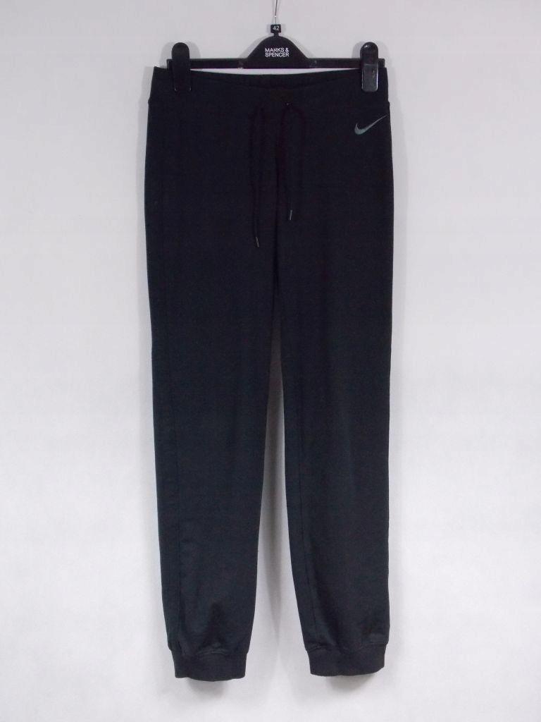 NIKE Spodnie damskie dresowe sportowe czarne S