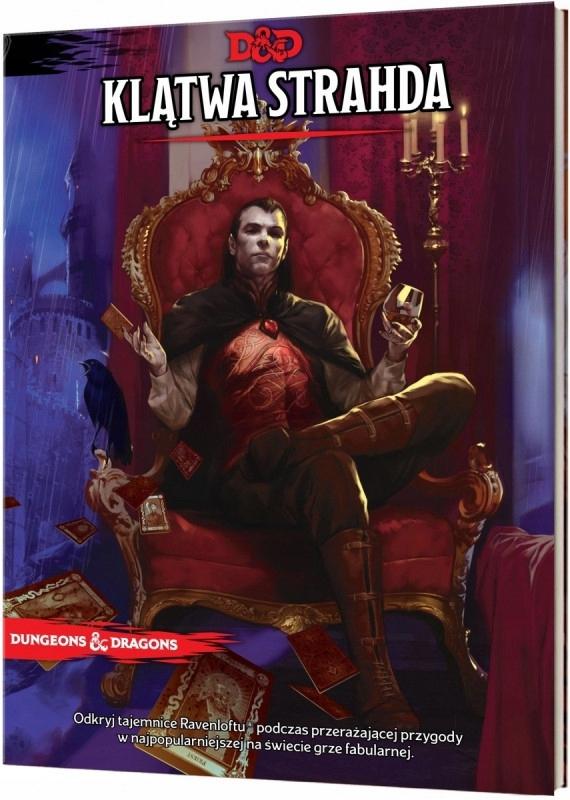 Rebel Gra Dungeons&Dragons Klątwa Strahda