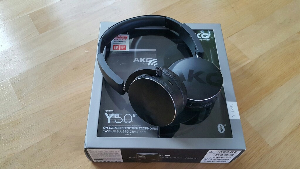 Słuchawki AKG Y50 BT bluetooth z AptX