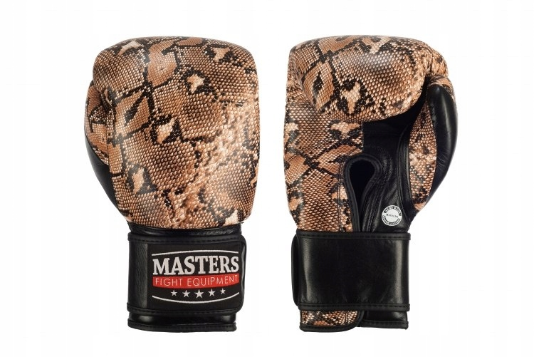 Rękawice bokserskie skórzane RBT-COBRA
