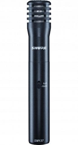 Shure SM137LC Mikrofon pojemnościowy instrumental.