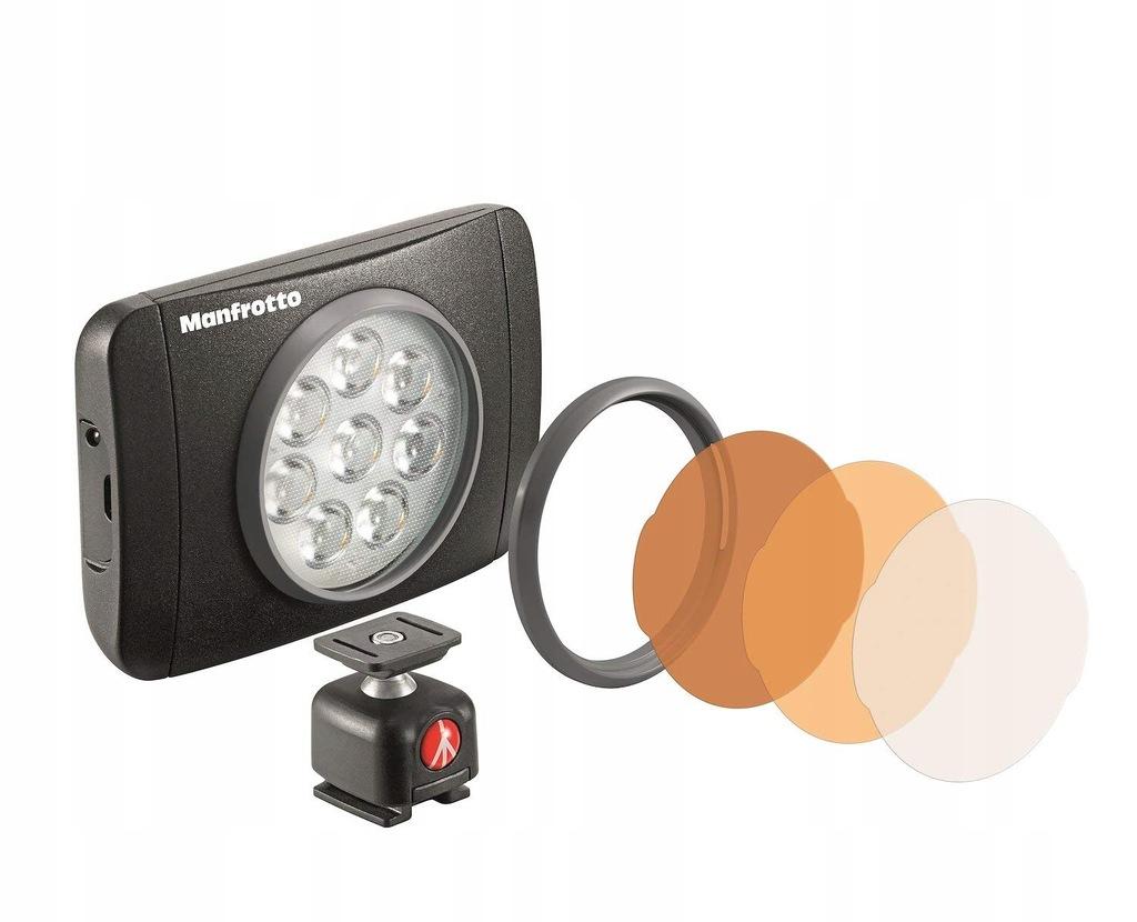 Lampa LED Manfrotto LUMIMUSE 8 Led 5600° K