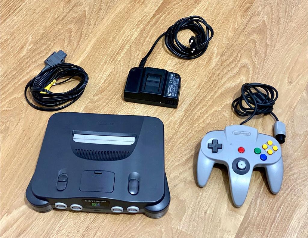 Konsola Nintendo 64 NUS-001 PAL