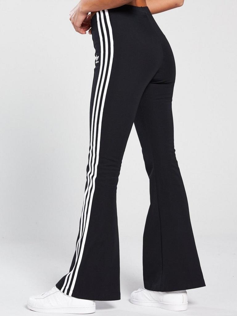 Spodnie adidas ( dzwony)