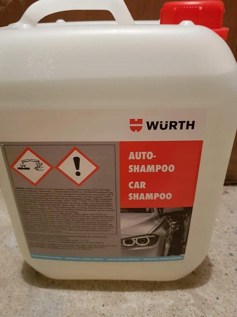 WURTH szampon 5L