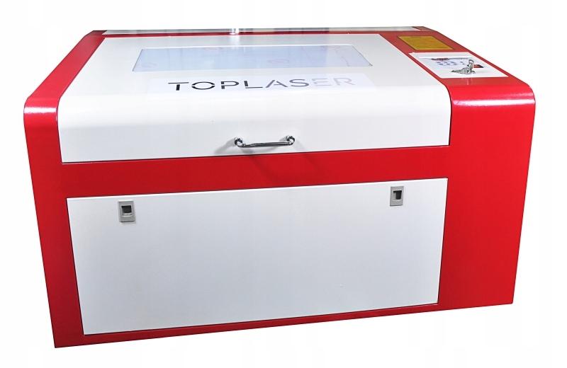 Ploter laserowy grawerka laser CO2 6040 60x40cm 40
