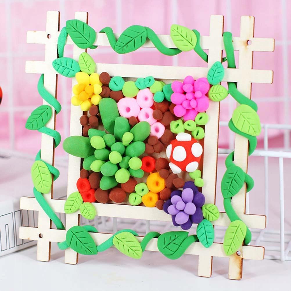 5PCS Creative DIY Picture Frame DIY Manual Paintin
