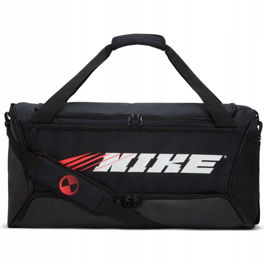 Nike Brasilia Graphic Training Duffel CU9477 010