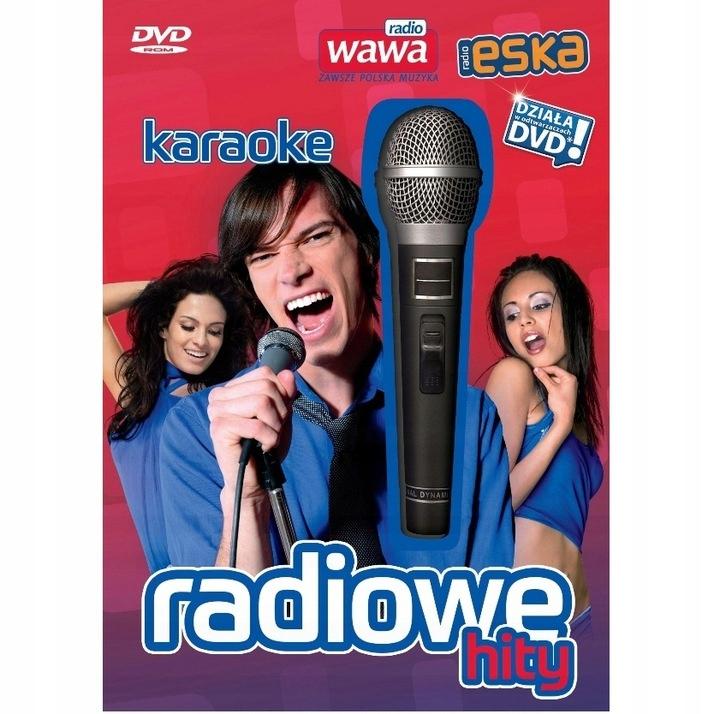PŁYTA KARAOKE RADIOWE HITY ESKA + MIKROFON PC DVD