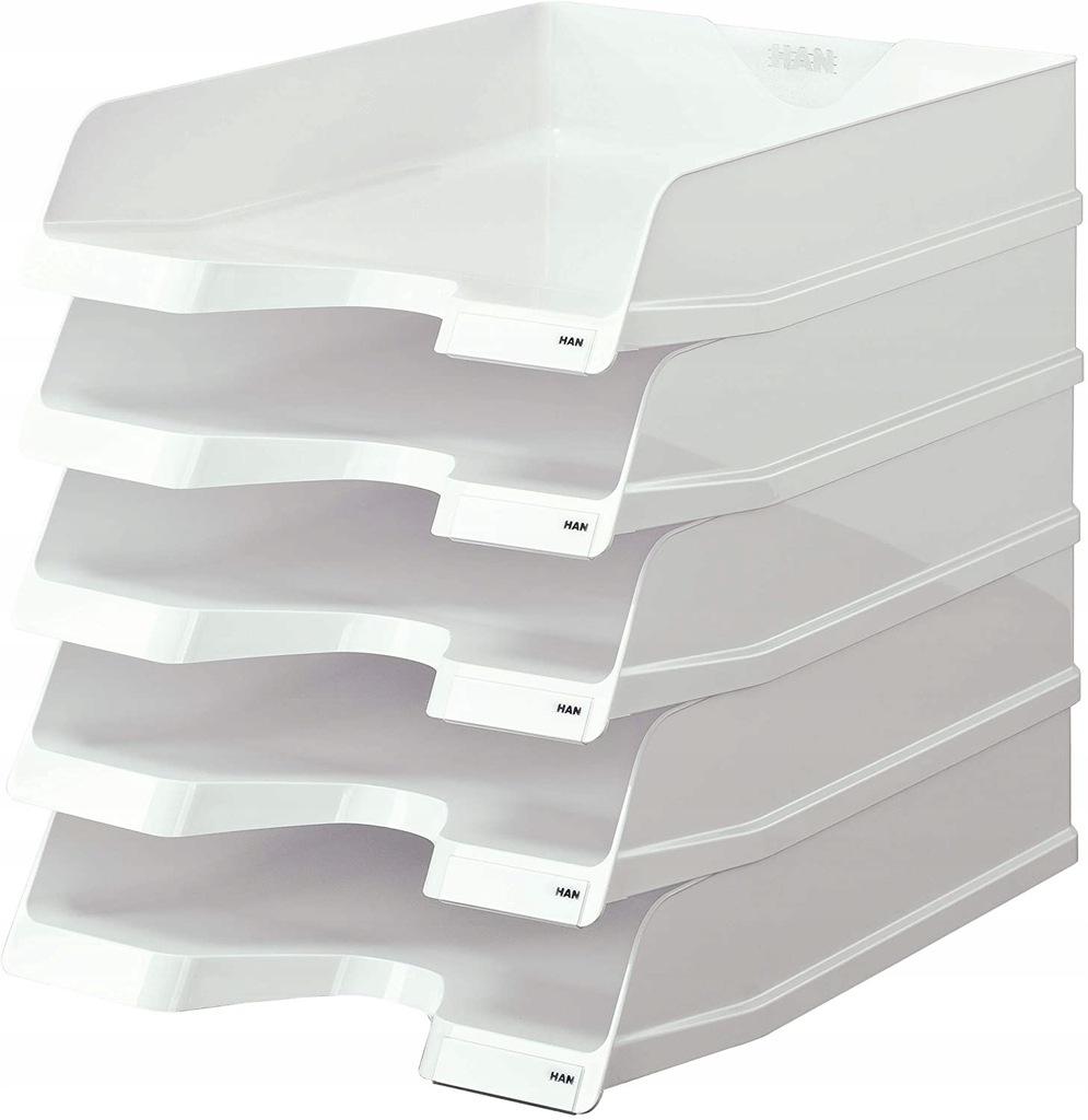 Kuweta na dokumenty HAN Viva - 5 sztuk białe