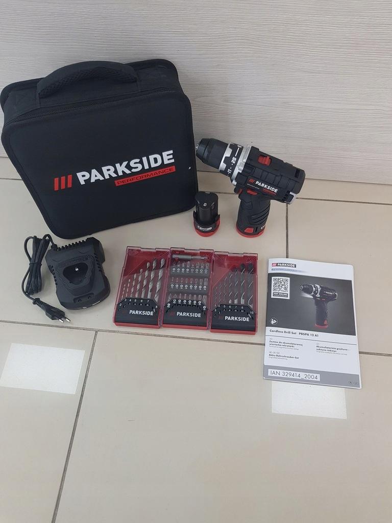 Akumulatorowa Wiertarko-WKRETARKA Parkside PBSPA