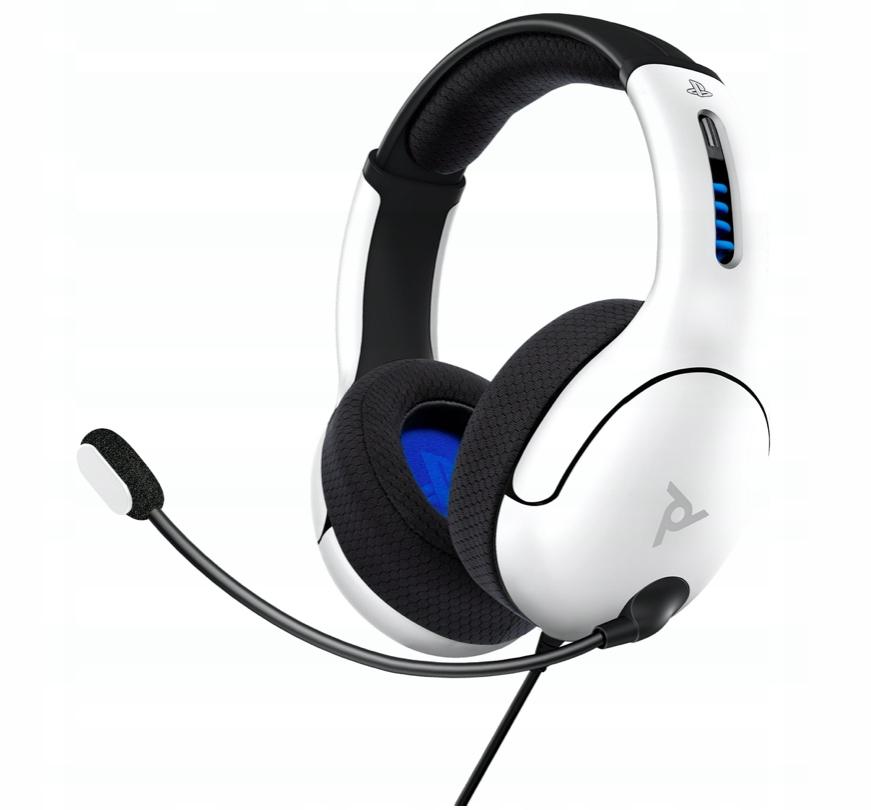 Słuchawki do PS5 / PS4 LVL50 - białe