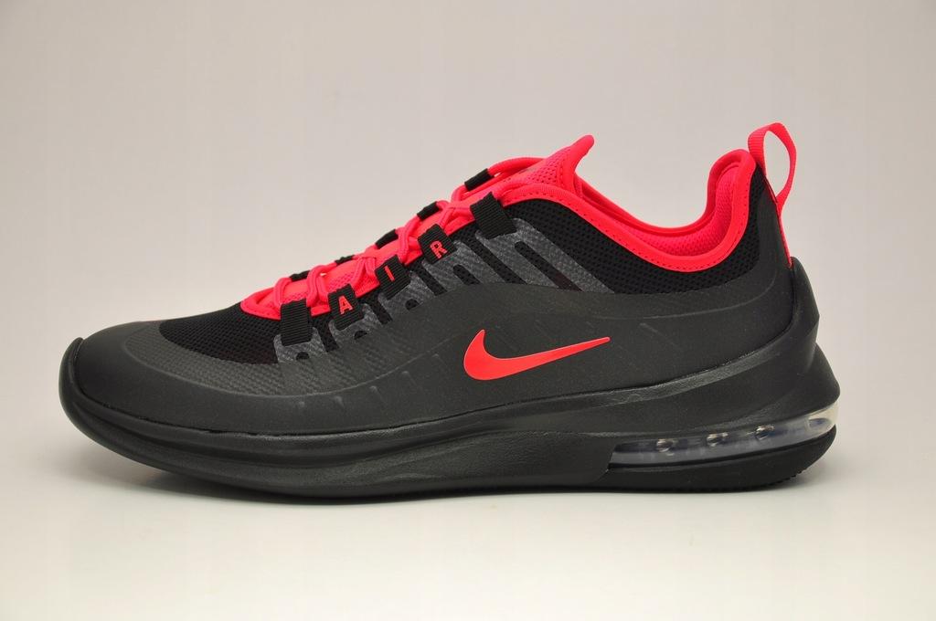 Nike Buty męskie Air Max Axis czarno czerwone r. 46 (AA2146