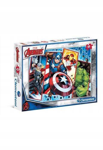 Puzzle 30. Avengers. Clementoni. 08518.