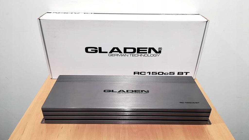 Gladen RC 1500c5 BT 5-kanałowy wzmacniacz