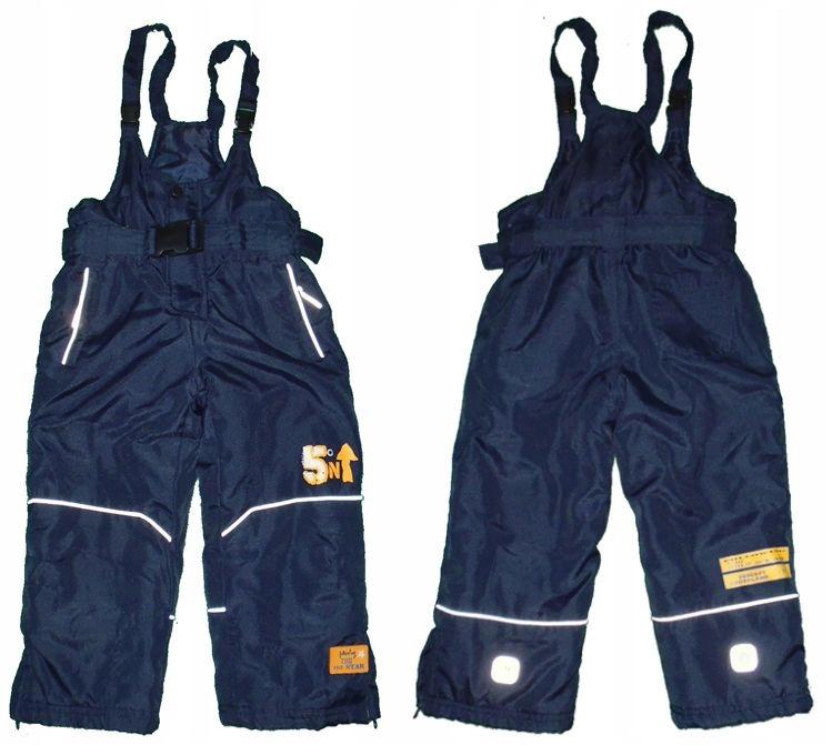 Spodnie narciarskie BOB der BAR roz 98 (2-3 lata)