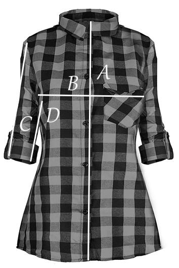 AWANTI modna krata kobieca KOSZULA 7130723596 oficjalne  GOGLF