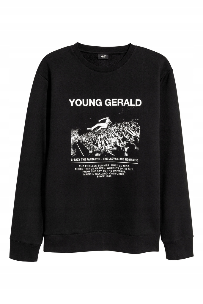 H&M G-EAZY YOUNG GERALD bluza unikat M