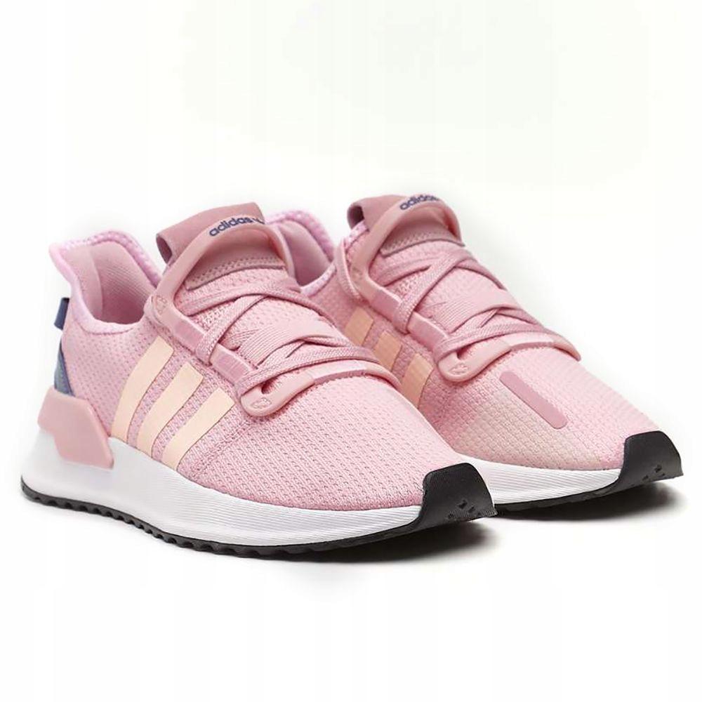 buty damskie adidas rozowe paski