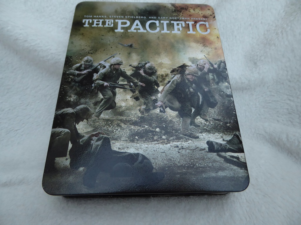 The Pacific -serial HBO Metalowy Box wyd UK