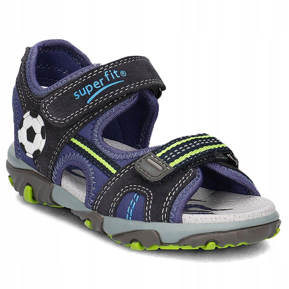 Sandały Superfit 0-00174-81 MIKE2 r34
