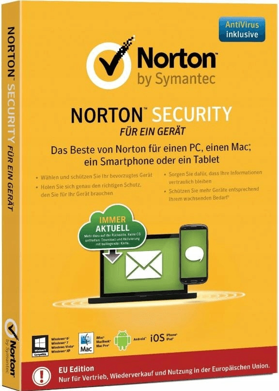 Norton Internet Security Deluxe 3 PC / 1 ROK (ESD)