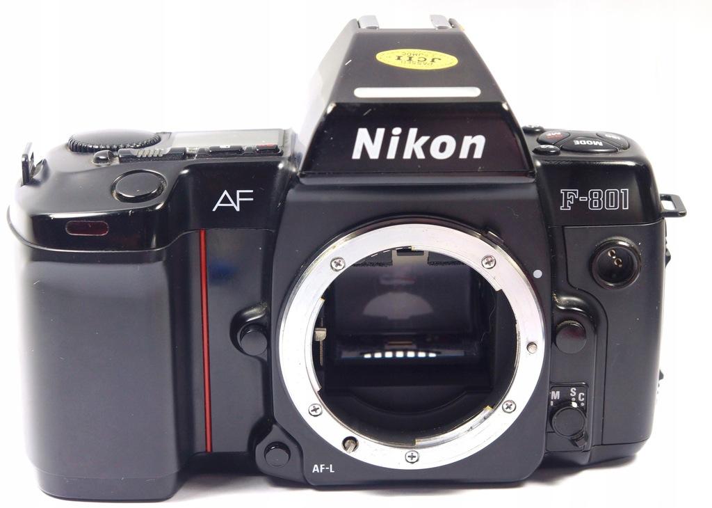 aparat kolekcjonerski Nikon AF F 801 body czarne