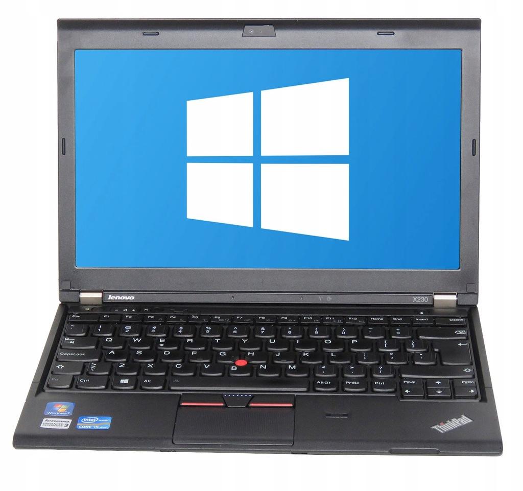 Lenovo Thinkpad X230 12 I5 240gb Ssd 8gb Win 7 7402823841 Oficjalne Archiwum Allegro