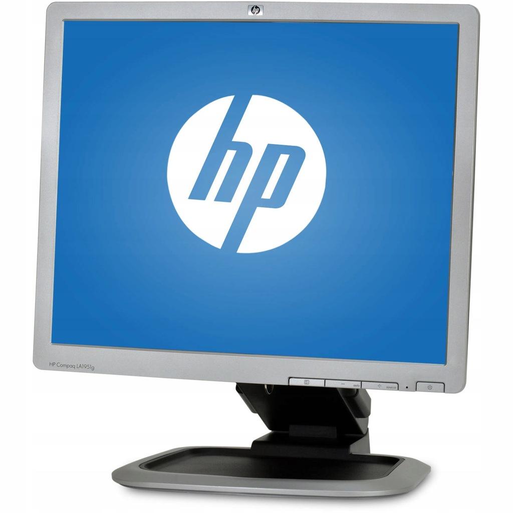 MONITOR LCD HP LA1951g 19' 5:4 DVI VGA USB PIVOT