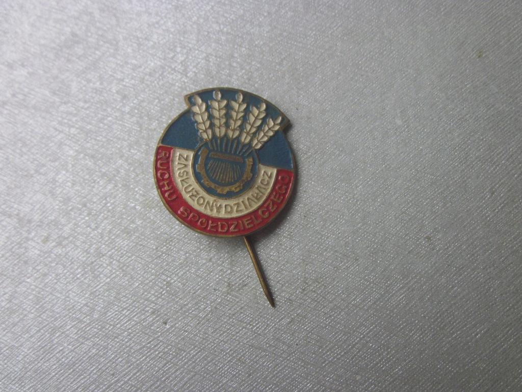 Odznaka Zasłużony Działacz Ruchu Spółdzielczego 3