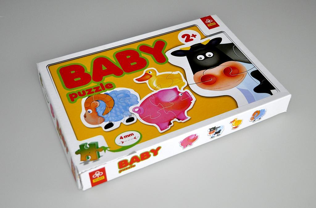 Puzzle BABY TREFL zwierzątka domowe