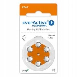 * Baterie do aparatów słuchowych everActive 13