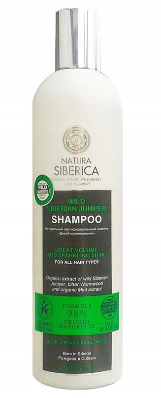 Natura Siberica szampon do wszystkich typów włosów