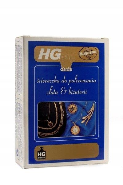 HG ściereczka do polerowania złota