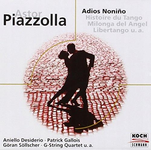 CD A. Piazzolla Adios Noninos/Histoire Du